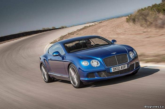 Новинка в линейке Bentley Continental GT версия Supersports