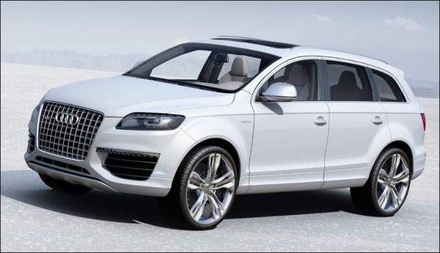 Audi планирует создать Q8 - настоящий внедорожник с внушающими ...